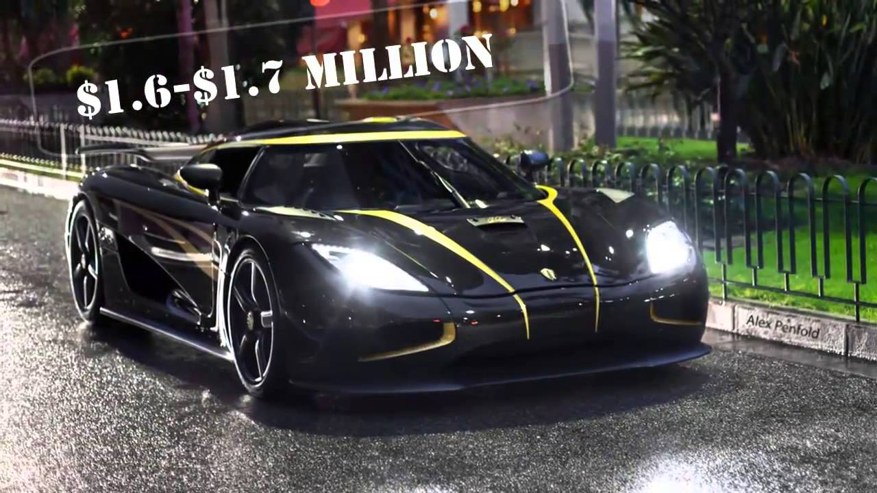 Koenigsegg Agera R Top Price Review - YouTube
