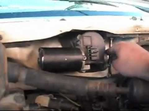 Ford F250 Wiper Motor Replacement  YouTube