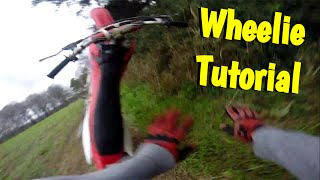How To Wheelie A DirtBike | Gone Wrong