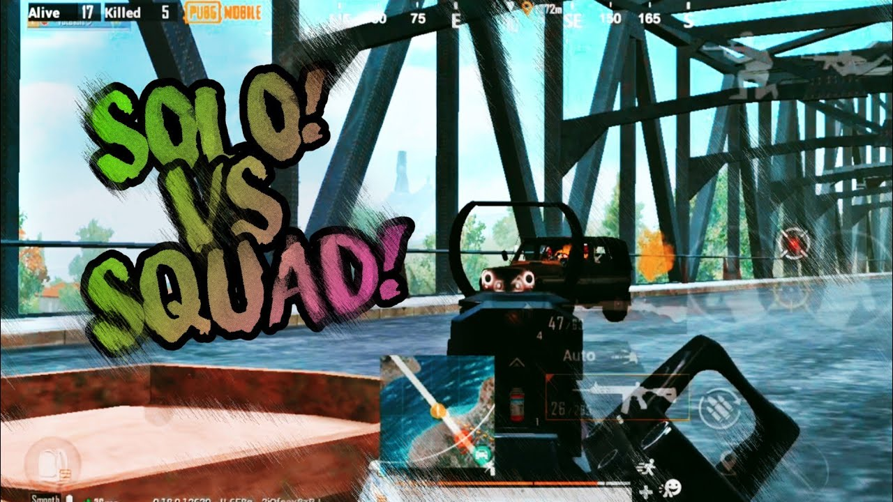 SOLO VS SQUAD | GAME PLAY | BABLU GAMING | SQUAD WIPE