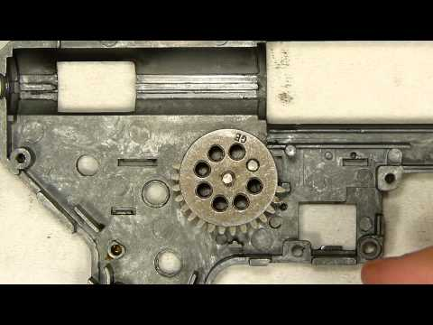 Airsoft Tech Talk: How To Shim A Gearbox - YouTube