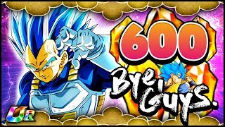 AGL SUPER SAIYAN BLUE EVOLUTION VEGETA [600 Stones] MULTI SUMMONS! | Dragon Ball Z: Dokkan Battle