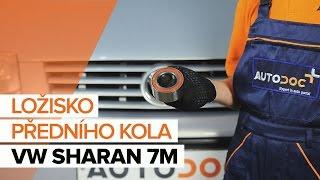 Instalace přední levý pravý Lozisko kola VW SHARAN: video příručky