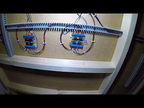 Building a Model Railway #13 – Fiddle Yard Wiring – Part 6