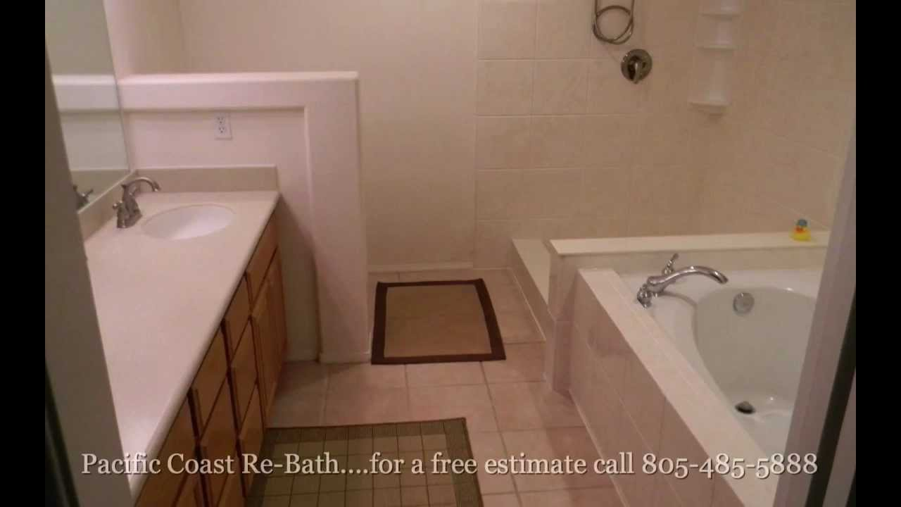 Tub Shower Combo Renovation Pacific Coast Rebath Youtube