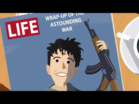 The Six Day War - in Animation