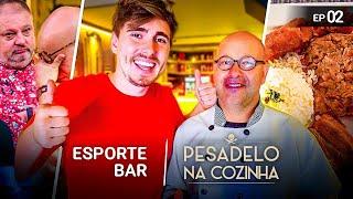 A Verdade verdadeira do Esporte bar (Antigo Bar) - Pesadelo na cozinha #2 /Gaba\