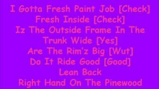Dorrough Ice Cream Paint Job Lyrics