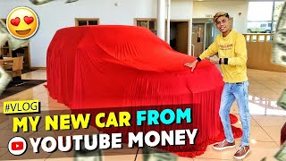 Buying My First Made in India Car😍🔥From YouTube Money !!