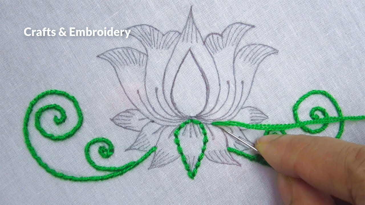 Hand Embroidery Easy Embroidery Design For Dresses Flower Embroidery Tutorial Youtube,1920s Interior Design Australia