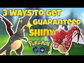 HOW TO GET A SHINY POKEMON IN POKEMON GO!!! (TOP 3 WAYS TO GET A SHINY)