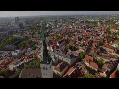 Tallinn in 4K - Inspire 1