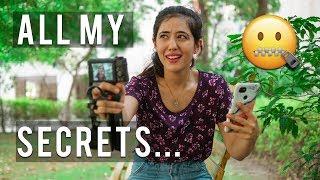 How I REALLY shoot my videos | Shoot angles, tips, camera hacks, beginner advice | Tanya Khanijow
