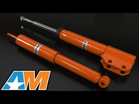 1987-1993 Mustang KONI STR.T Front Strut & Rear Shock (V8) Review