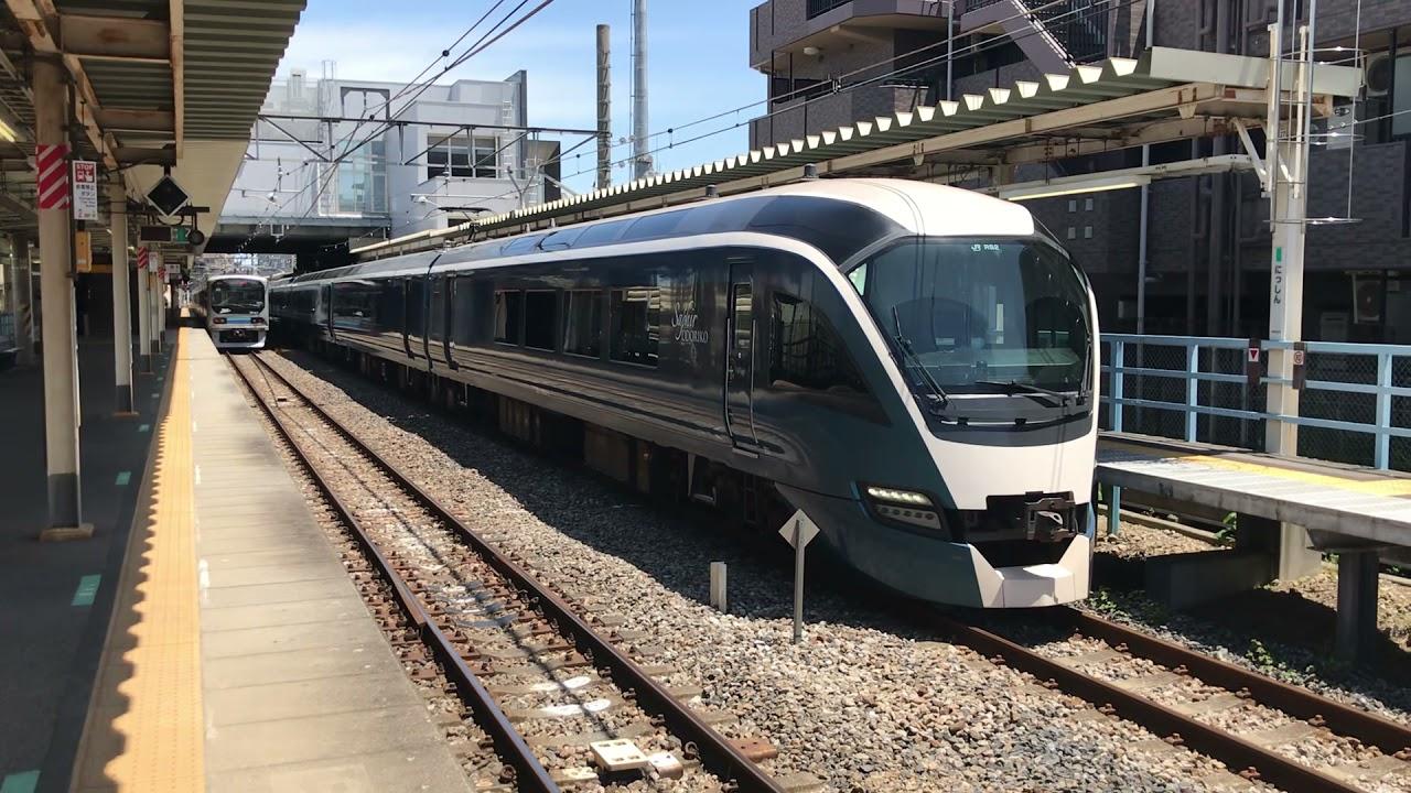 『サフィール踊り子』川越線・日進発車 ミュージックホーン