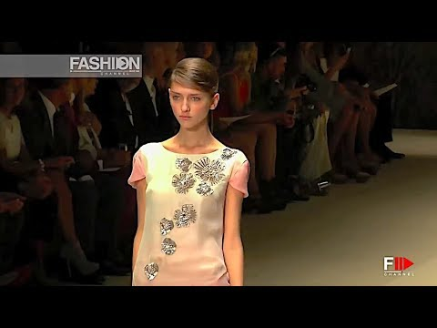 LAURA BIAGIOTTI  Spring Summer 2014 Milan - Fashion Channel