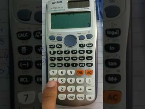 how to solve 4x4 matrix using calculator