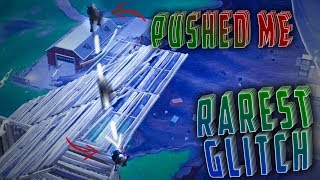 RARET BUG À FORTNITE ! CE LAG GLITCH PUSHED ME OFF THE STRUCTURE !