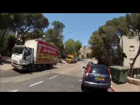 Tour De Haifa (Israel) - Inside Carmel neighborhoods