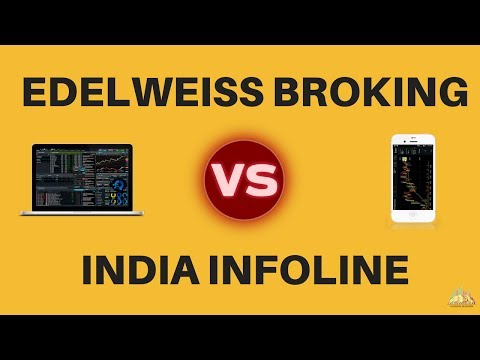 Edelweiss Broking Vs India Infoline (IIFL)  - Detailed Comparison - Pricing, Platforms, Exposure