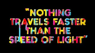 Sparks - Nothing Travels Faster Than The Speed Of Light (Official Lyric Video)