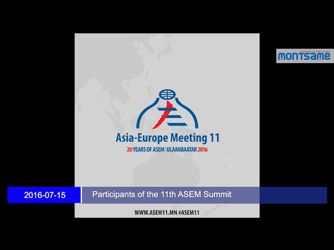 Participants of the 11th ASEM Summit