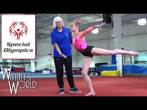 Video Demonstrations for Special Olympics | Whitney Bjerken Gymnastics
