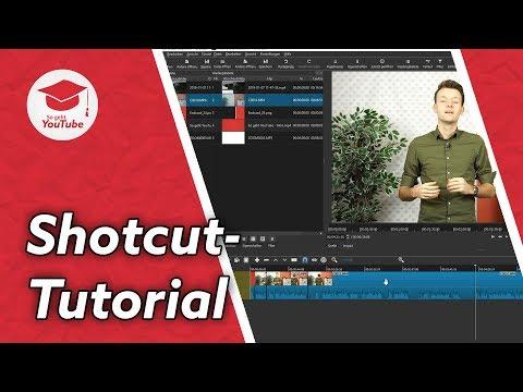 Kostenloser Videoschnitt für Beginner mit SHOTCUT - Tutorial