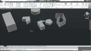AutoCAD Schulung Deutsch / 9 Lektion - 3D Objekte erstellen und bearbeiten