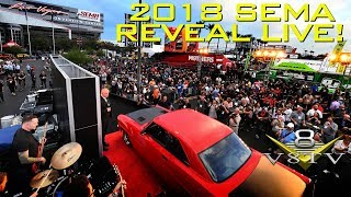 V8TV's Live Coverage of 2018 SEMA Reveal!   Monday October 29 at 5:00 PM Pacific Time