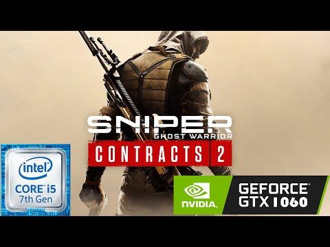 Sniper Ghost Warrior: Contracts 2 | i5-7500 + GTX 1060 6GB OC + 16GB RAM [1080p Ultra Settings] |
