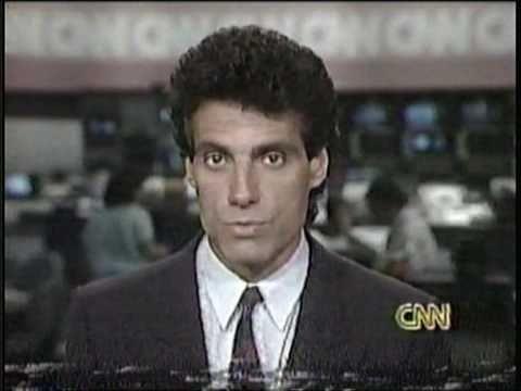 Nick Charles on CNN Sports Tonight, 1989