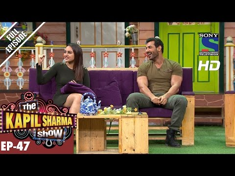 The Kapil Sharma   दी कपिल शर्मा शोEp47Sonakshi and John in Kapil's  –1st Oct 2016