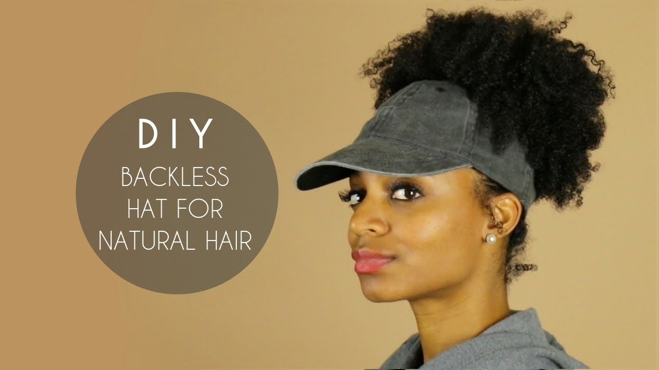 f44a279f0 DIY Backless Satin-Lined Hat for Natural Hair: 6 Steps (with Pictures)