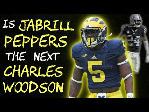 Is JABRILL PEPPERS the NEXT CHARLES WOODSON?