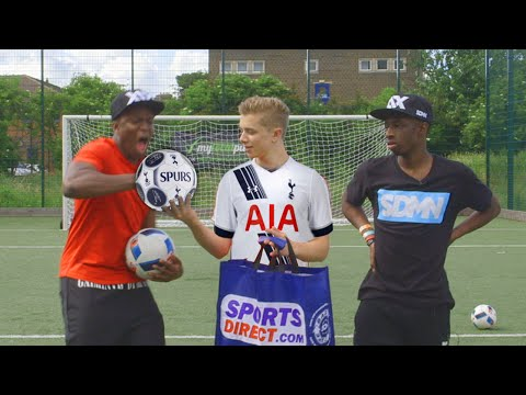 Thumbnail: THE EXTREME ARSENAL FOOTBALL CHALLENGE | VS KSI ...& FT. TOBI