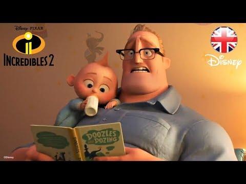 INCREDIBLES 2 | SNEAK PEEK | Official Disney Pixar UK