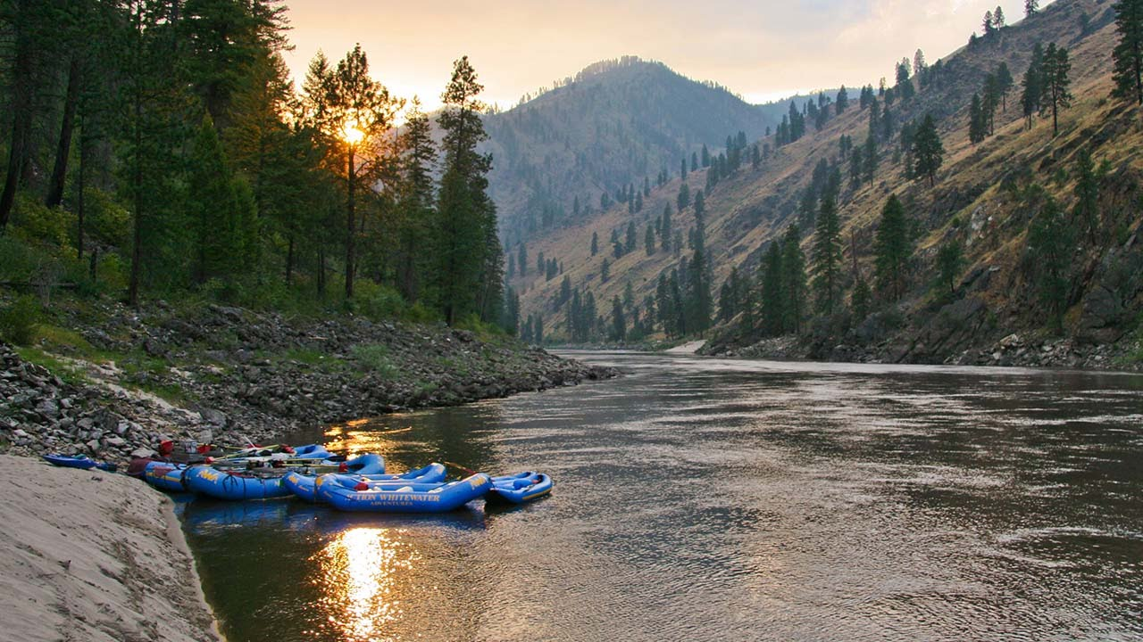 Main Salmon River Rafting In Idaho Youtube