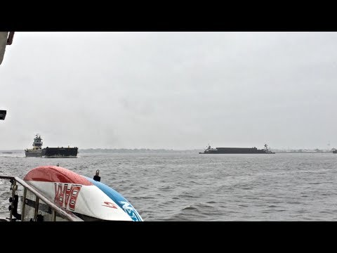 CLOSE CALLS with BIG BARGES