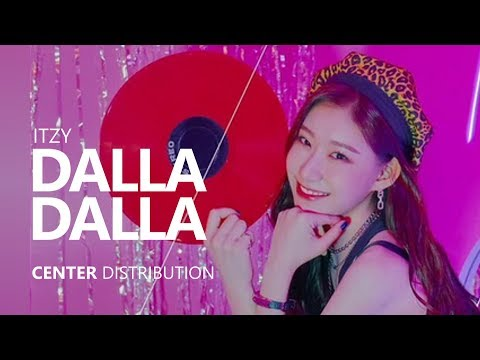 ITZY - 달라달라 DALLA DALLA | Center Distribution