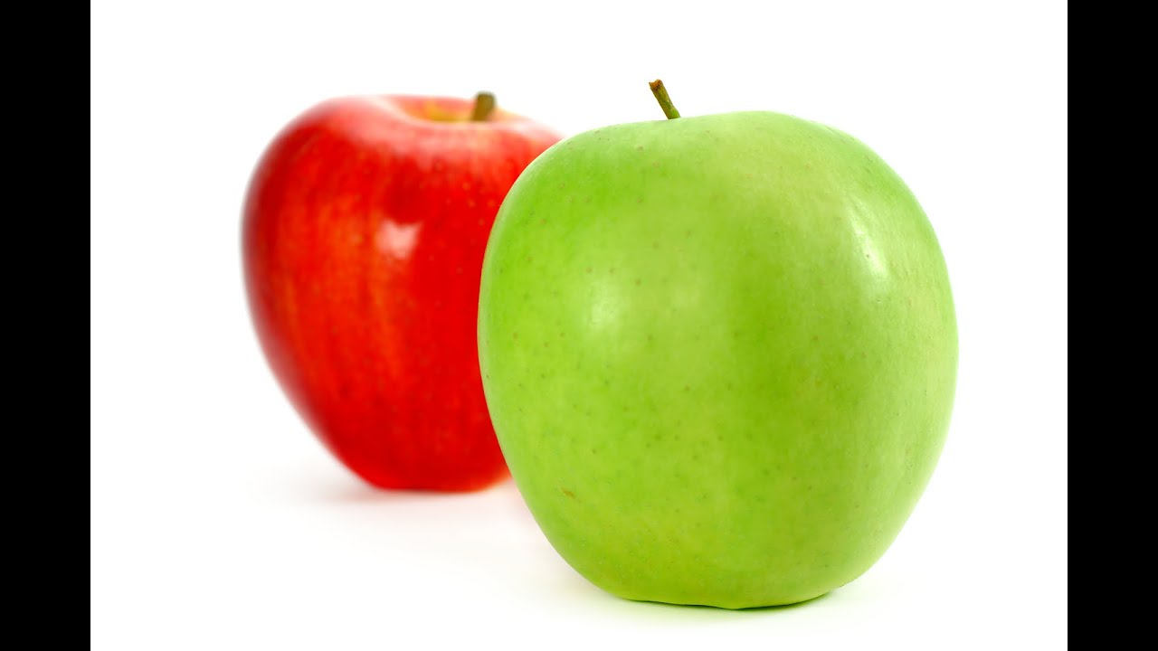 green and red apples. green and red apples l