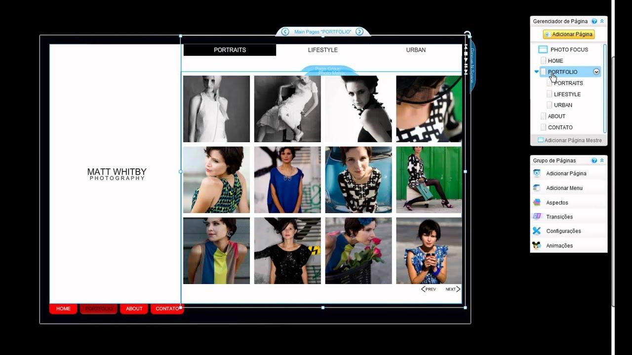 46dc05837 Aprenda como criar um site grátis no Wix! - YouTube