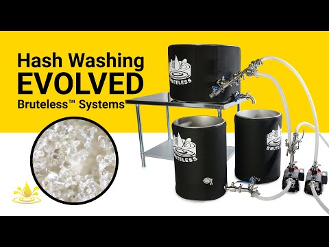 Hash Washing Evolved: Bruteless™ Systems