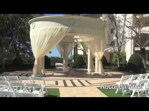 Monarch Beach Resort, Dana Point - Rotunda Draping - Monarch Beach, CA