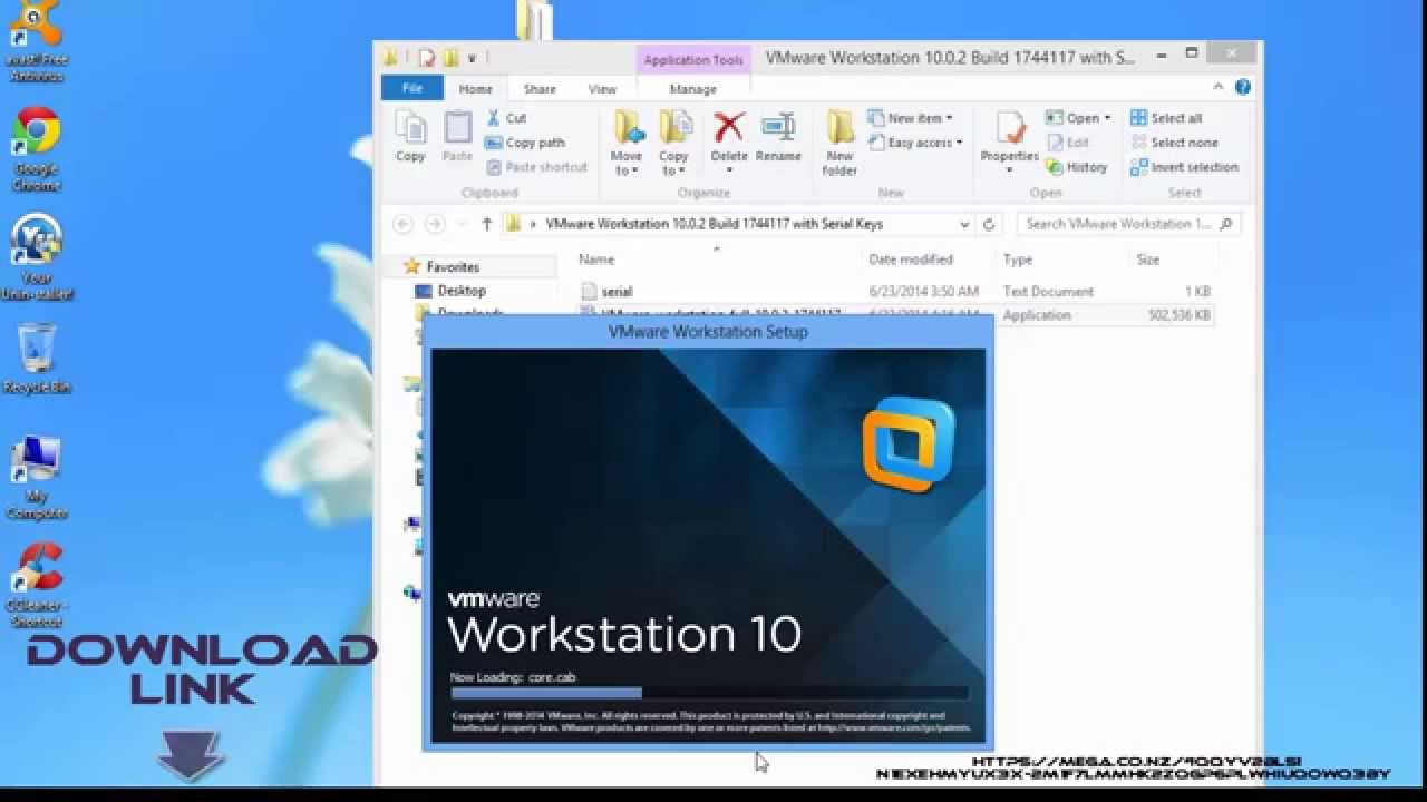 workstation 10_VMware Workstation 10.0.2 Build 1744117 with Serial Keys LATEST - YouTube
