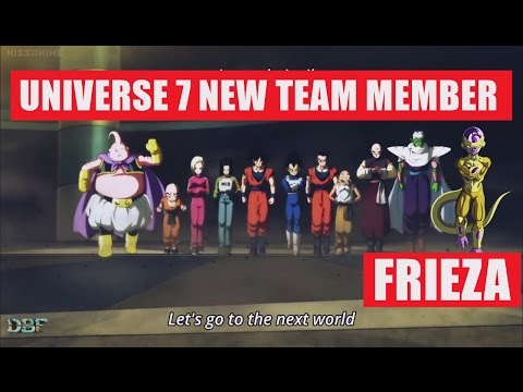 Frieza Is The New Member of Universe 7 Team?!- Dragon Ball Super
