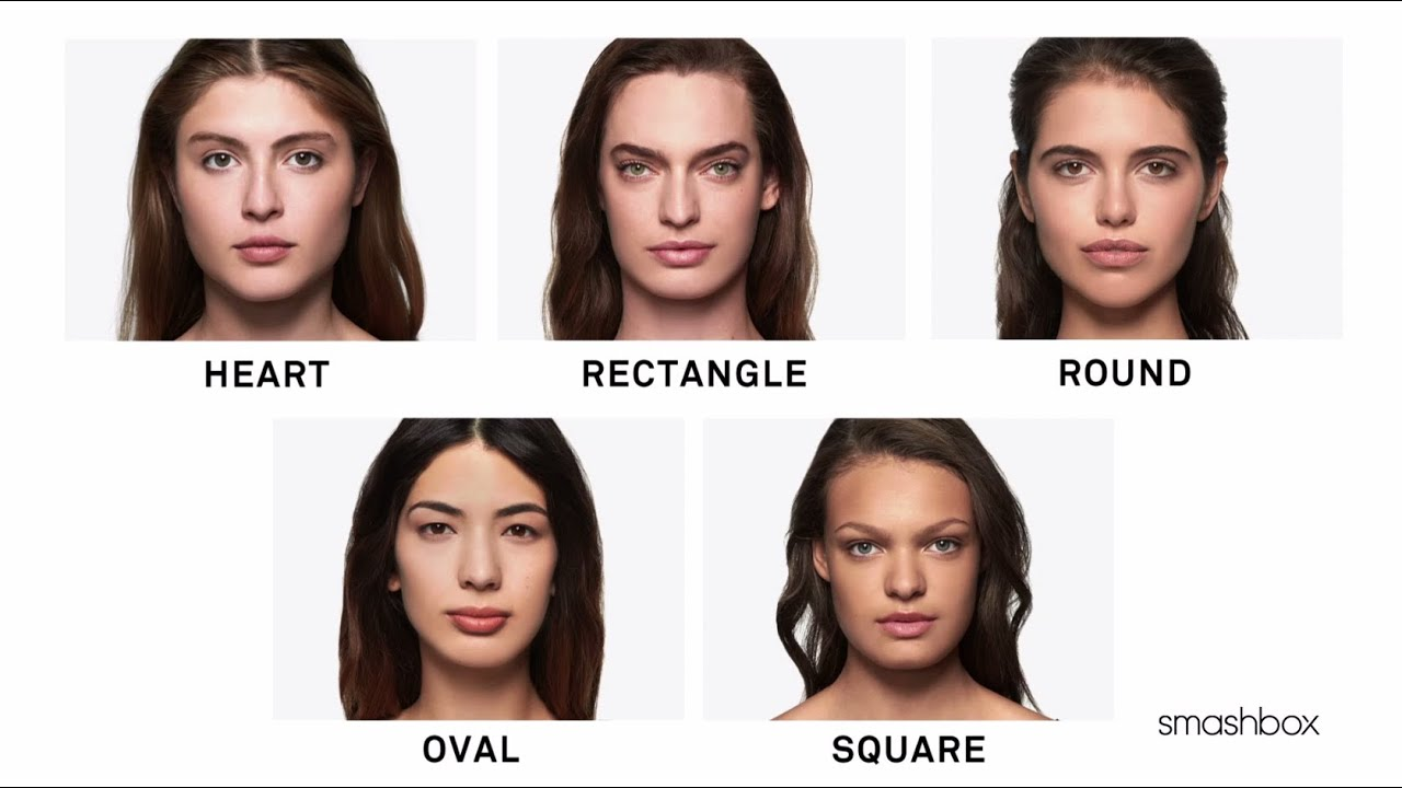 contouring for different face shapes. how to figure out your face shape for contouring by smashbox cosmetics | sephora - youtube different shapes