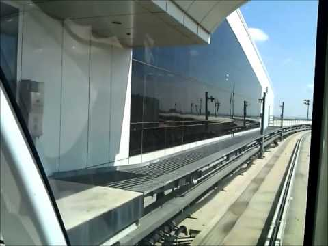 SKYLINK... From Terminal D to Terminal A at DFW