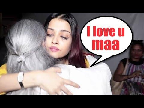 EMOTIONAL Aishwarya Rai HUGS Jaya Bachchan At Shammi Aunty Prayer Meet
