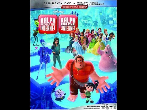Opening To Wreck-it Ralph: Ralph Breaks The Internet 2019 Blu-Ray